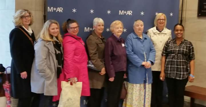 members standing at the Museum of the American REvolution