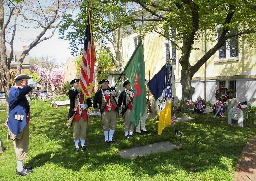 revolutionary flag ceremony